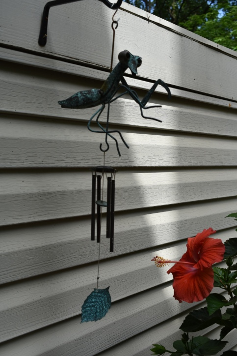 Mantis windchime from Newburyport MA - mid 1990's