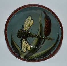 Small pottery dish