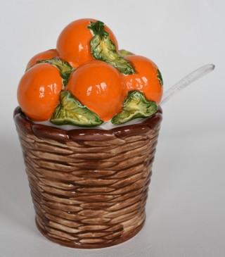 Another orange pot